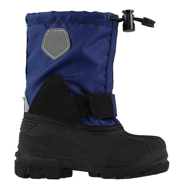 Color Kids Vinterstøvler - Sianna - Mørkeblå