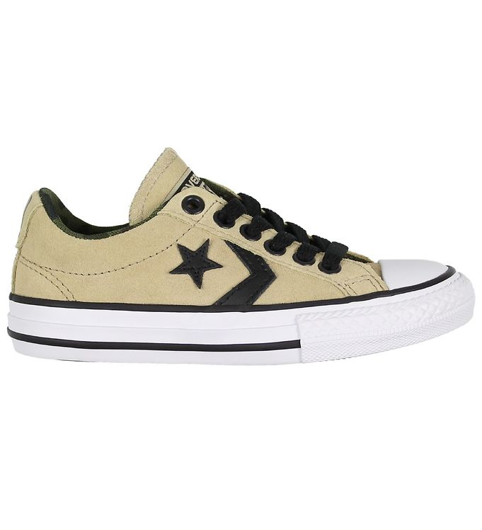 Image of Converse Sko - Star Player - Khaki Ruskind (KD440)
