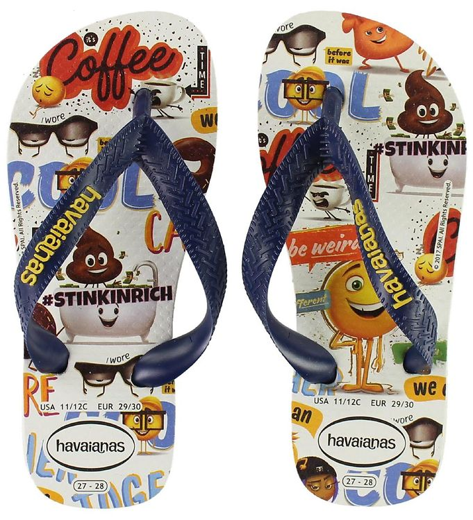 Image of Havaianas Klipklapper - Emoji Movie (KD730)