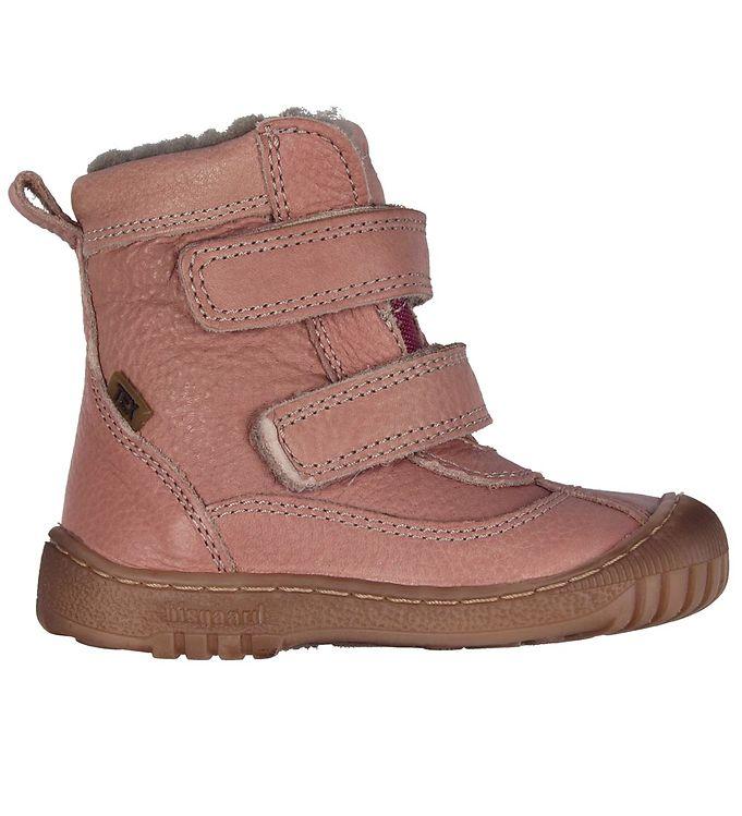 Bisgaard vinterstøvler - tex - rosa m. for/velcro fra bisgaard fra kids-world