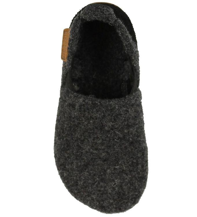 178dfeb9551 Bisgaard Hjemmesko - Wool Sailor - Koksgrå - Køb her med gratis ...
