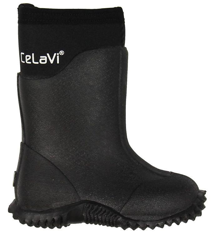 CeLaVi Gummistøvler - Neopren - Sort