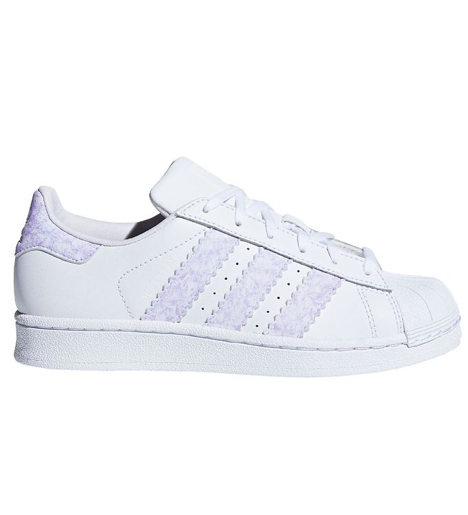 Image of adidas Originals Sko - Superstar - Hvid m. Lilla (KE755)