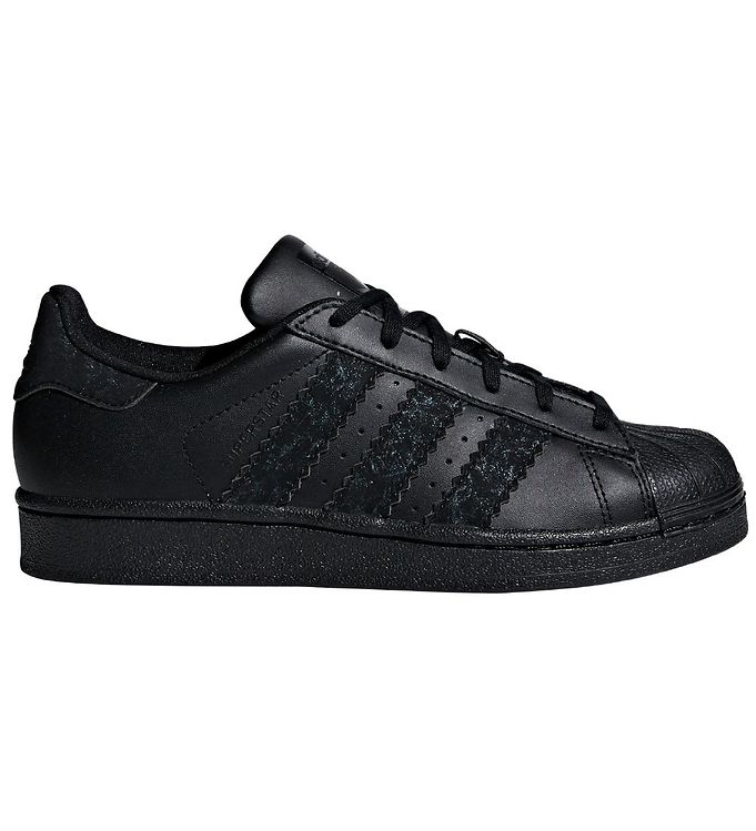 Image of adidas Originals Sko - Superstar - Sort m. Glimmer (KE756)