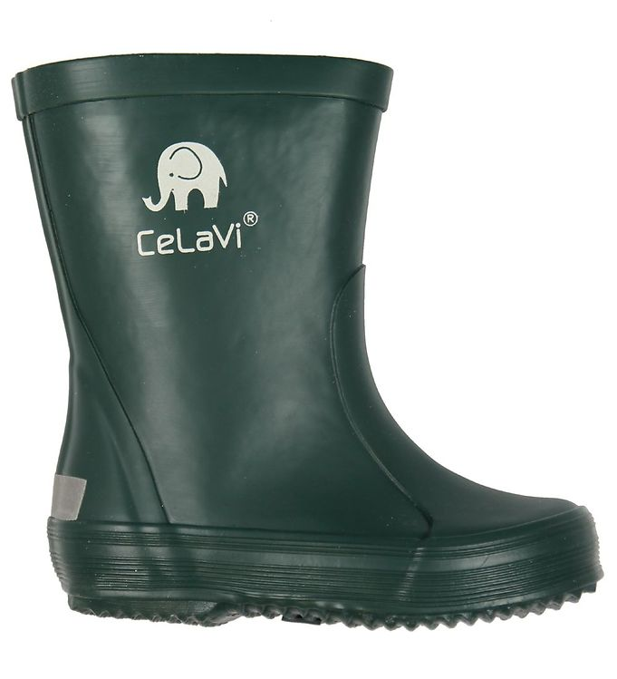 CeLaVi Gummistøvler - Mørkegrøn
