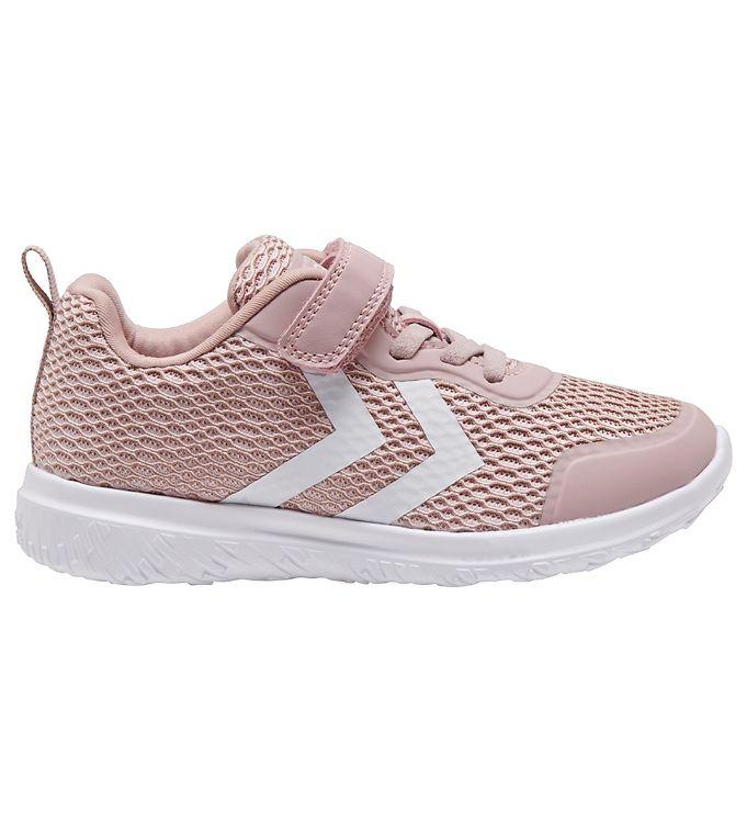 Hummel Sko - HMLActus ML Jr - Pale Lilac - ,Hummel Børnesko,Hummel Sko,Hummel Sneakers,Hummel SS19,Slip-on/Velcro - Hummel