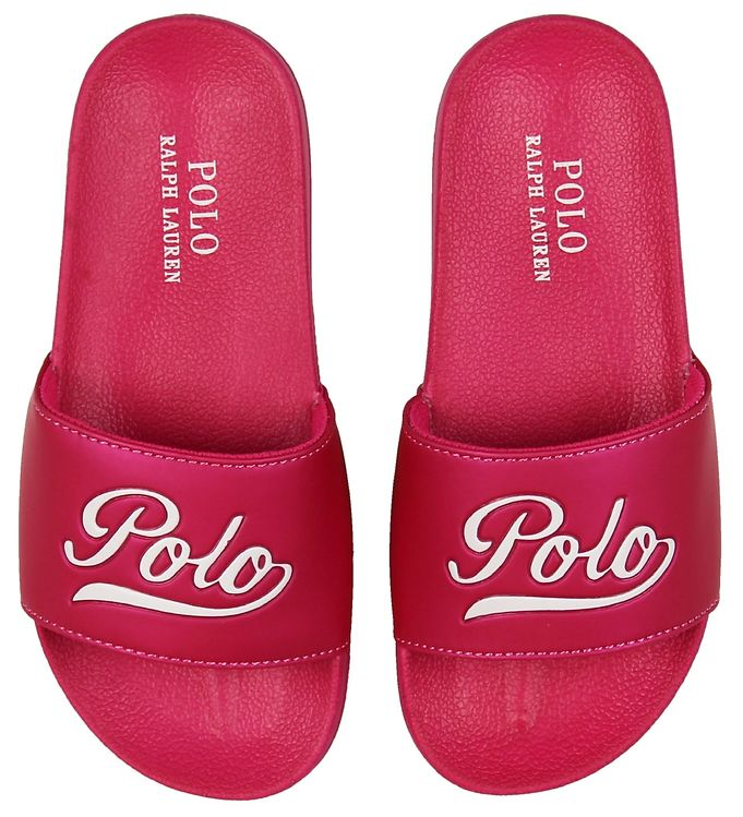 Image of   Polo Ralph Lauren Badesandaler - Yalesville - Pink