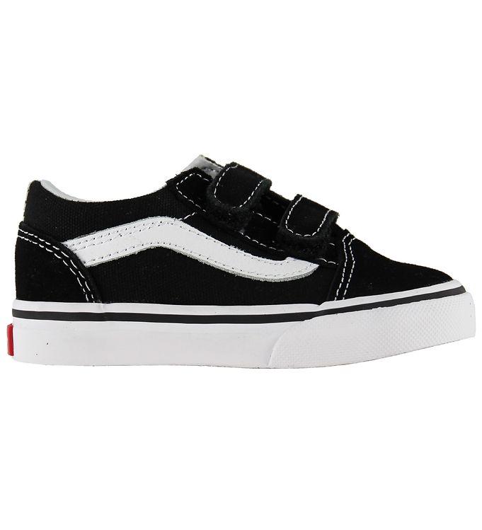Vans Sko - Old Skool V - Sort - 17 - Vans,Vans Børnesko,Vans Sko,Vans Sneakers - Vans