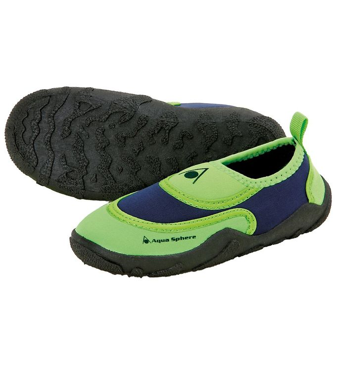 Aqua Sphere Badesko - Beachwalker Kids - Lime/Navy thumbnail