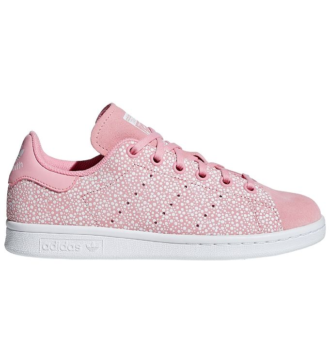 Image of adidas Originals Sko - Stan Smith - Glow - Lyserød m. Prikker (KF283)
