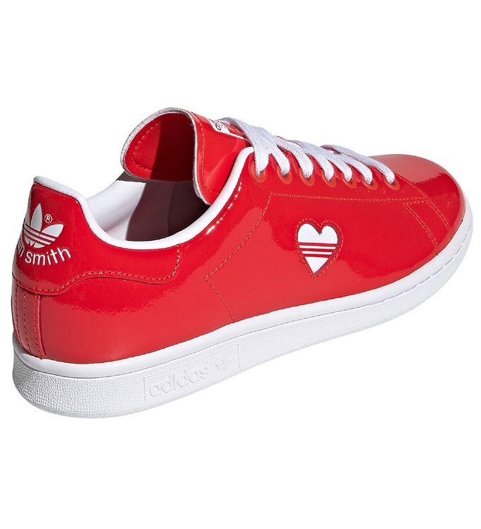 2823813f4e97 adidas Originals Sko - Stan Smith - Rød m. Hjerte