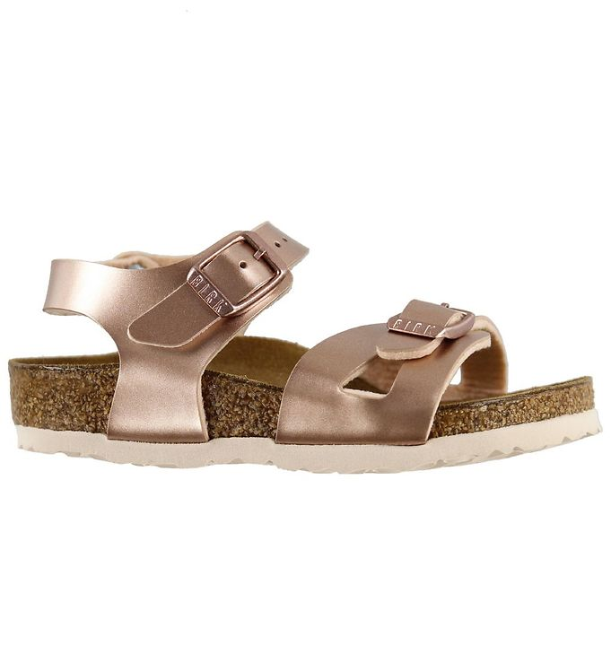 Image of Birkenstock Sandaler - Rio - Electric Metallic Copper (KF434)