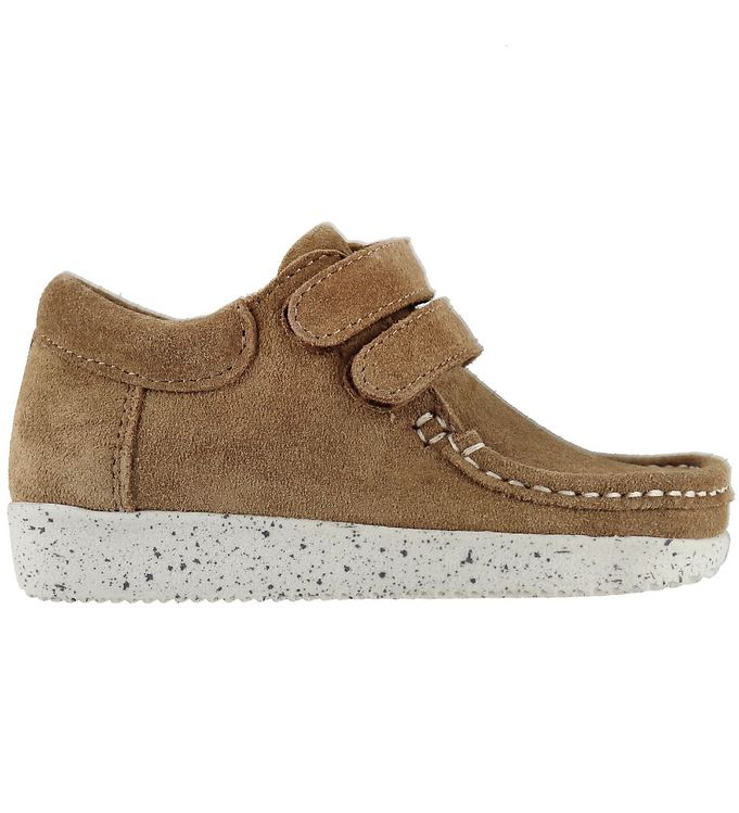 Image of Nature Sko - Suede - Toffee (KF729)