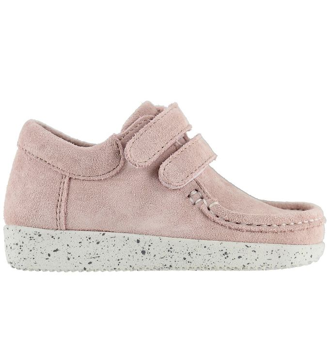 Image of Nature Sko - Suede - Baby Pink (KF730)