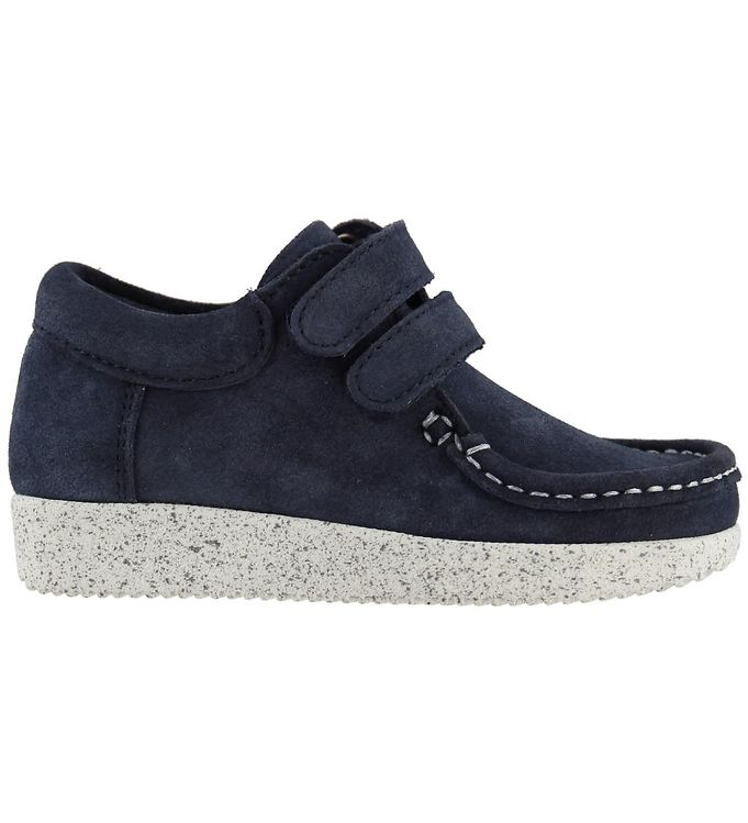Image of Nature Sko - Suede - Navy (KF734)