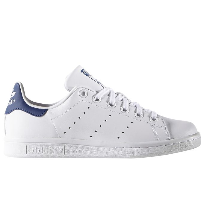 Image of adidas Originals Sko - Stan Smith - Hvid m. Blå (KF752)