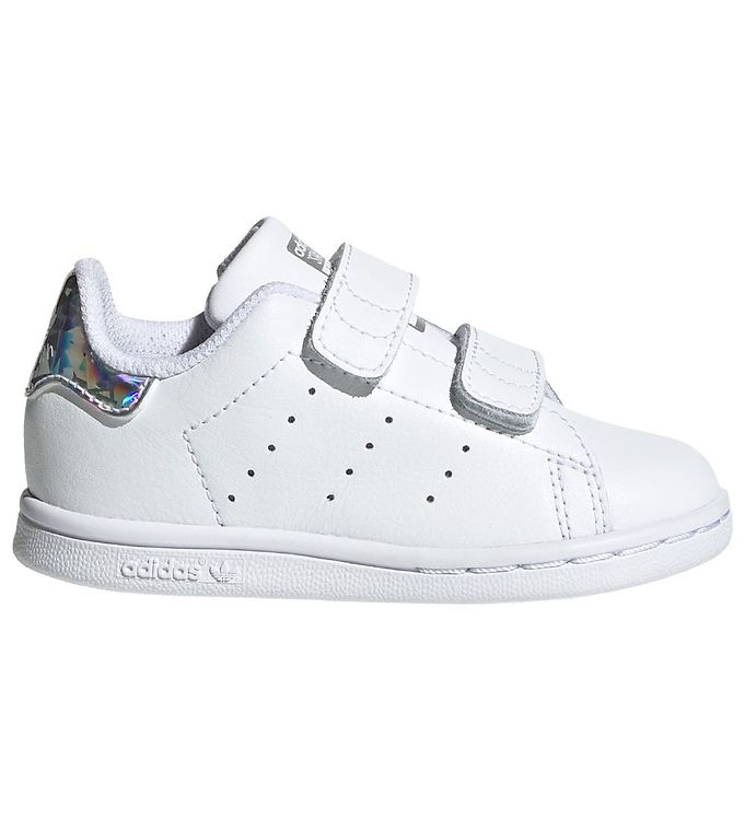 Image of adidas Originals Sko - Stan Smith - Hvid m. Holografisk (KF772)