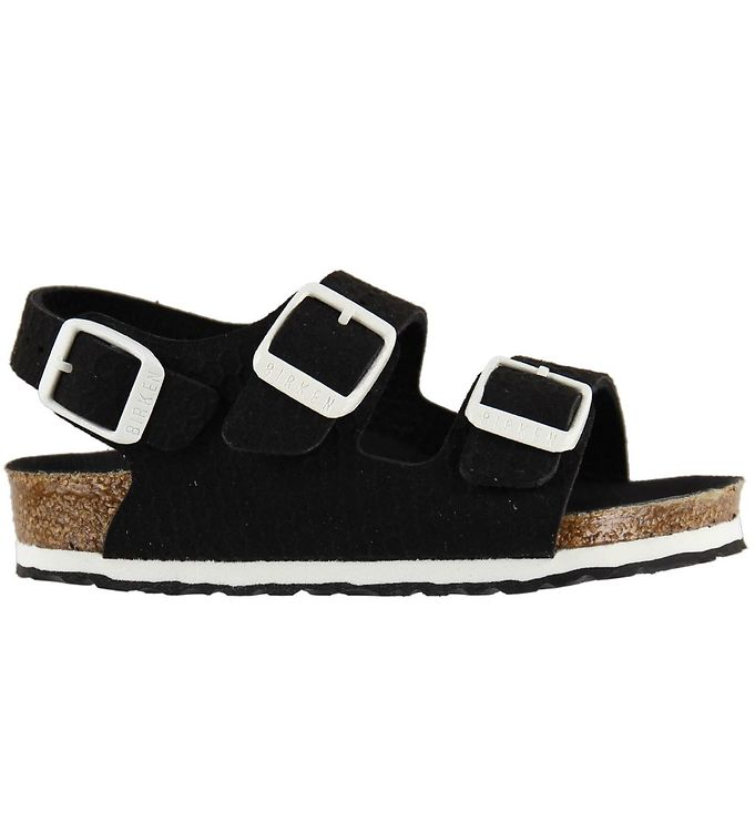 Image of Birkenstock Sandaler - Milano - Hexagon Black (KF816)