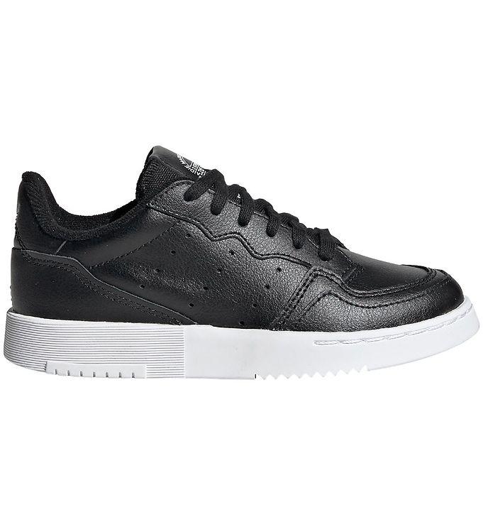 adidas Originals Sko - Supercourt - Sort - 05 - adidas,adidas Originals AW19,adidas Originals Børnesko,adidas Originals Sko,adidas Originals Sneakers - adidas Originals