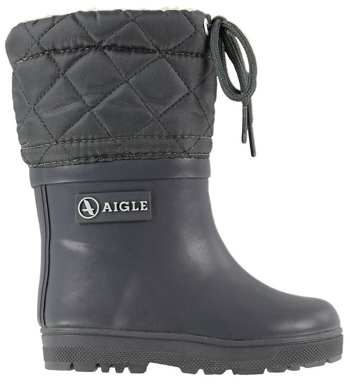Image of Aigle Termostøvler - Woody Warm - Charcoal (KG222)