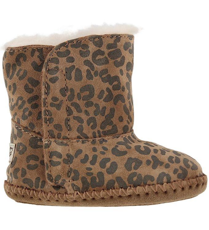 Image of UGG Hjemmesko - Cassie Leopard - Uld - Chestnut Leopard (KG260)
