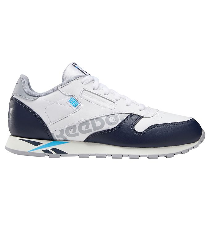 Image of Reebok Classic Sko - Classic Leather - Hvid/Navy (KG277)