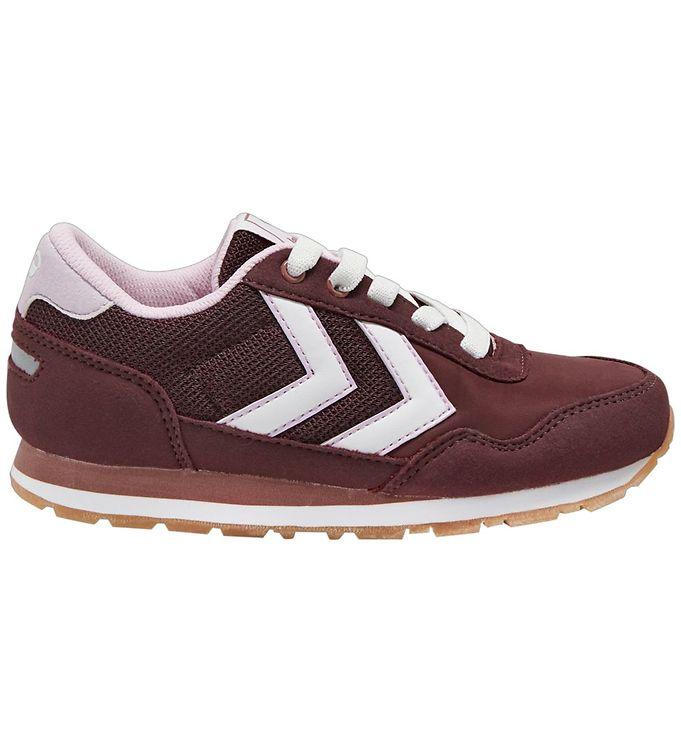 Hummel Sko - HMLReflex Jr - Fig - ,Hummel Børnesko,Hummel Sko,Hummel Sneakers,Hummel SS20,Slip-on/Velcro - Hummel