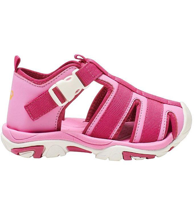 Hummel Sandaler - Buckle Infant - Fuchsia Pink - Hummel Børnesko,Hummel Sandaler,Hummel SS20 - Hummel
