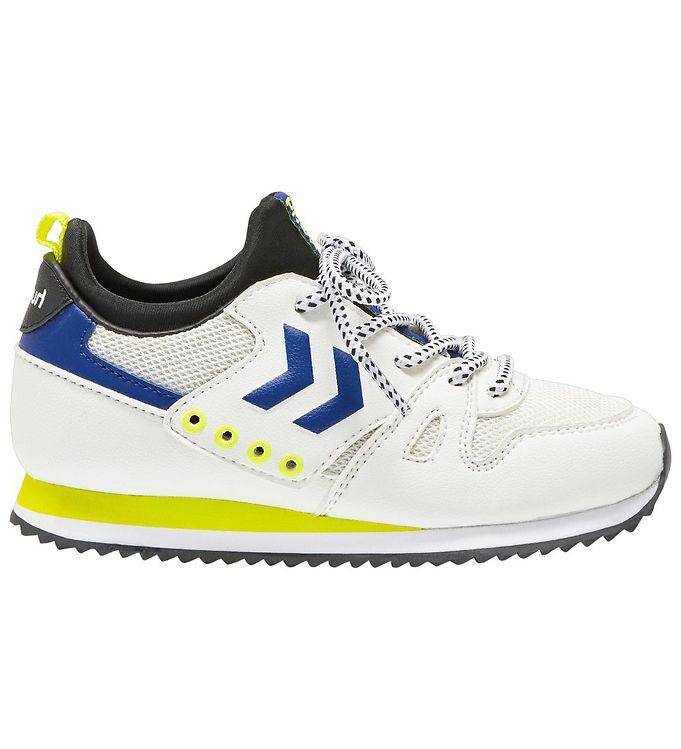 Hummel Sko - HMLMarathona Sock Jr - Hvid - 0% - 7,AA - Hummel,Hummel Børnesko,Hummel Sko,Hummel Sneakers,Hummel SS20,Hummel Udsalg - Hummel