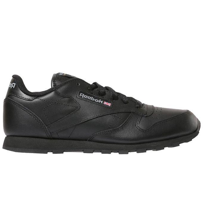 Reebok Sko - Classic Leather - Sort - Reebok Børnesko,Reebok Sko,Reebok Sneakers,Reebok SS20 - Reebok