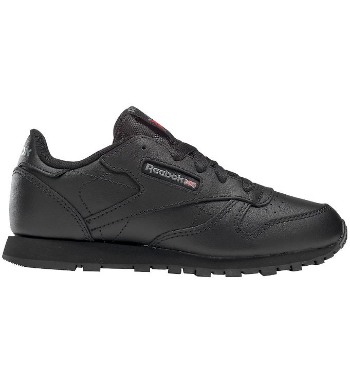 Image of Reebok Classic Sko - Classic Leather - Sort (KH587)