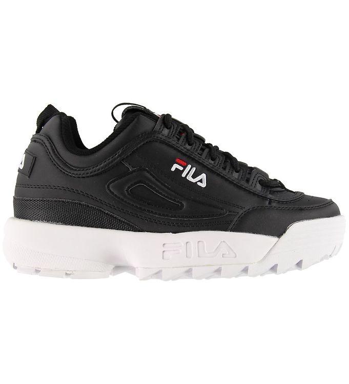 Fila Sko - Disruptor Low - Sort - Fila Børnesko,Fila Sko,Fila Sneakers,Fila SS20 - Fila