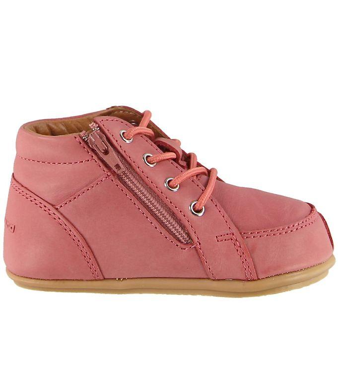 Bundgaard Prewalker ll Lace sko, rose, 19