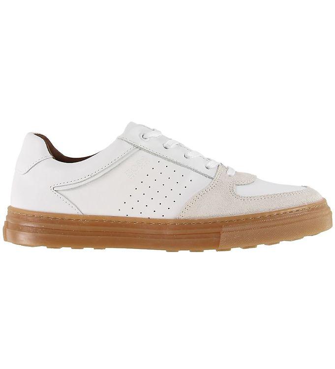 BOSS Sko - Hvid - BOSS Børnesko,BOSS Sko,BOSS Sneakers,BOSS SS20 - BOSS