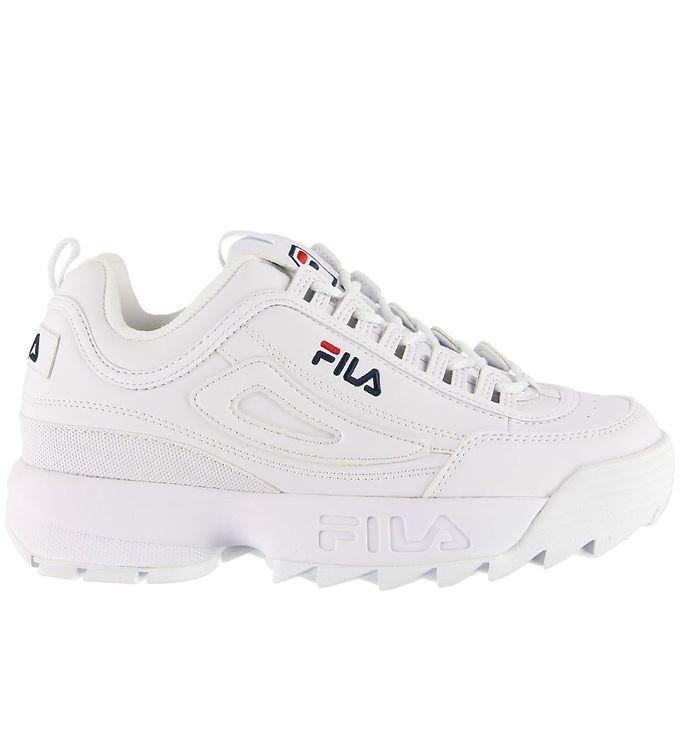 Fila Sko - Distruptor Low - Hvid - Fila Børnesko,Fila Sko,Fila Sneakers,Fila SS20 - Fila
