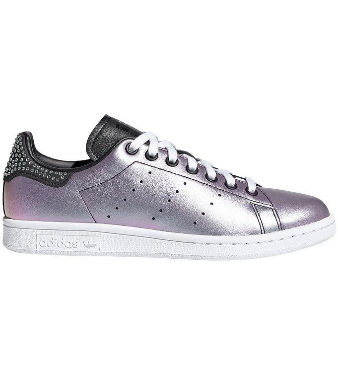 Image of adidas Originals Sko - Stan Smith W - Lilla Metallic m. Sten (KI154)