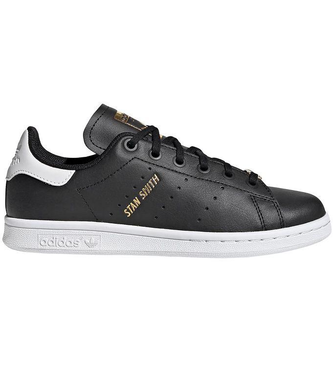Image of adidas Originals Sko - Stan Smith J - Sort/Hvid (KI165)