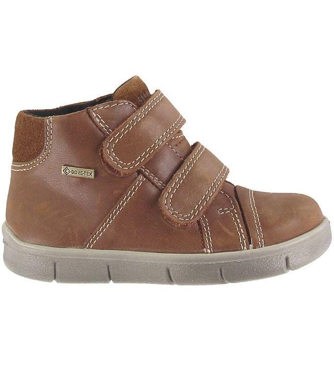 Superfit Støvler - Gore-Tex - Ulli - Brun - Slip-on/Velcro,Superfit,Superfit Børnesko,Superfit HW20,Superfit Støvler - Superfit