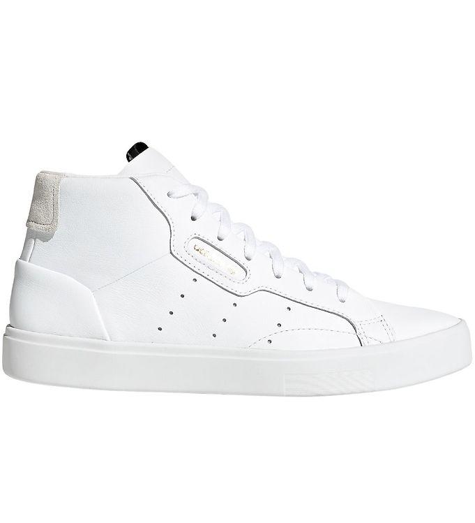 adidas Originals Sko - Sleek Mid - Hvid - adidas Originals AW20,adidas Originals Børnesko,adidas Originals Sko,adidas Originals Sneakers - adidas Originals