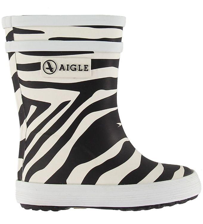 Billede af Aigle Gummistøvler - Baby Flac - Zebra