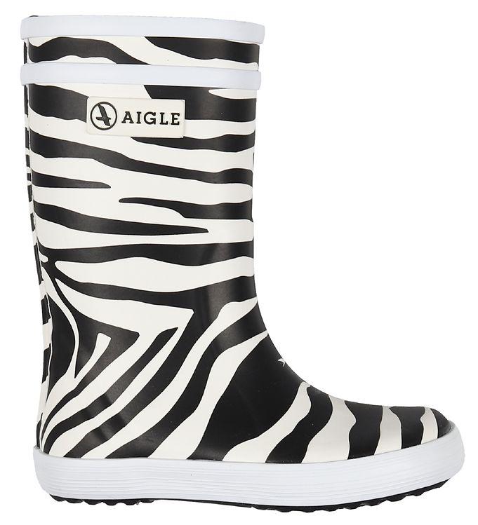 Billede af Aigle Gummistøvler - Lolly Pop Kid - Zebra