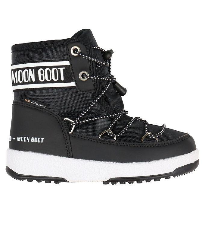 Image of Moon Boot Vinterstøvler - Tex - Jr Mid WP - Sort (KJ025)