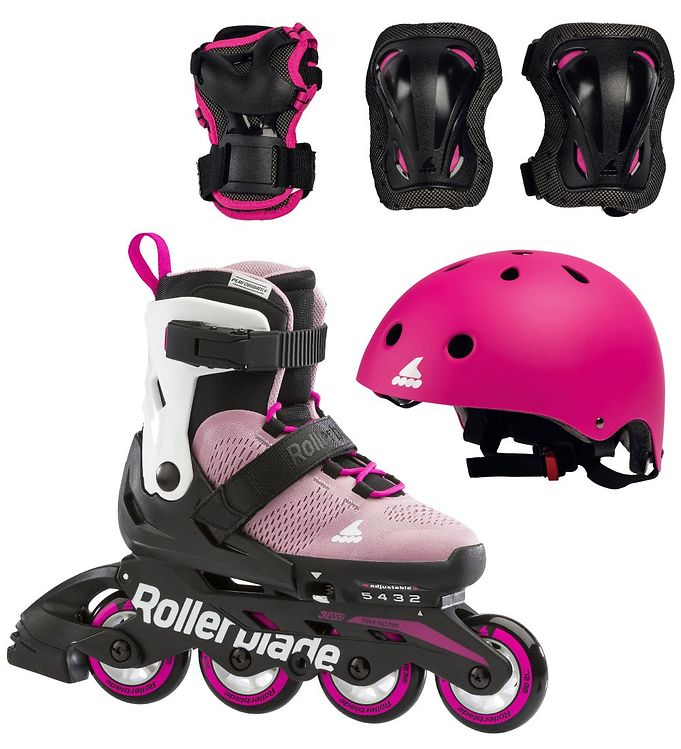 Image of Rollerblade Rulleskøjtesæt - Micro Cube G - Pink/White (LO300)