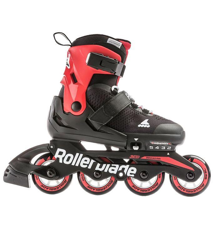 Image of Rollerblade Rulleskøjter - Microblade - Black/Red (LO304)