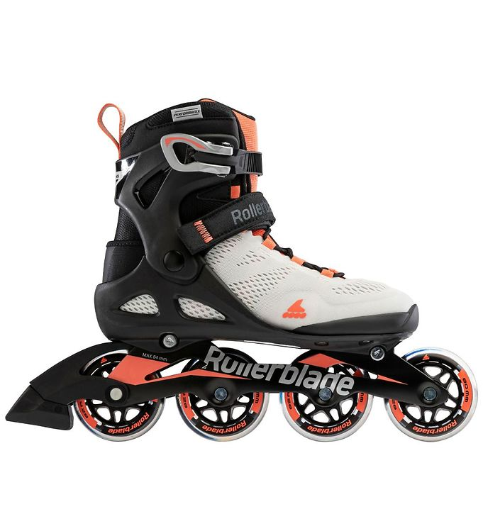 Image of Rollerblade Rulleskøjter - Macroblade - 80 W - Gray/Coral (LO305)