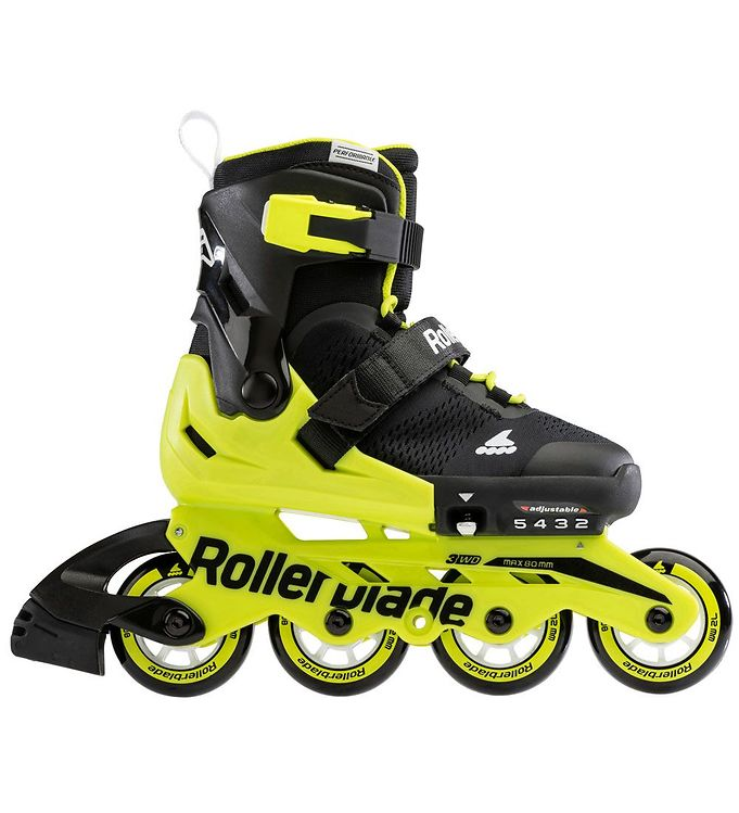 Image of Rollerblade Rulleskøjter - Microblade - Black/Yellow (LO319)