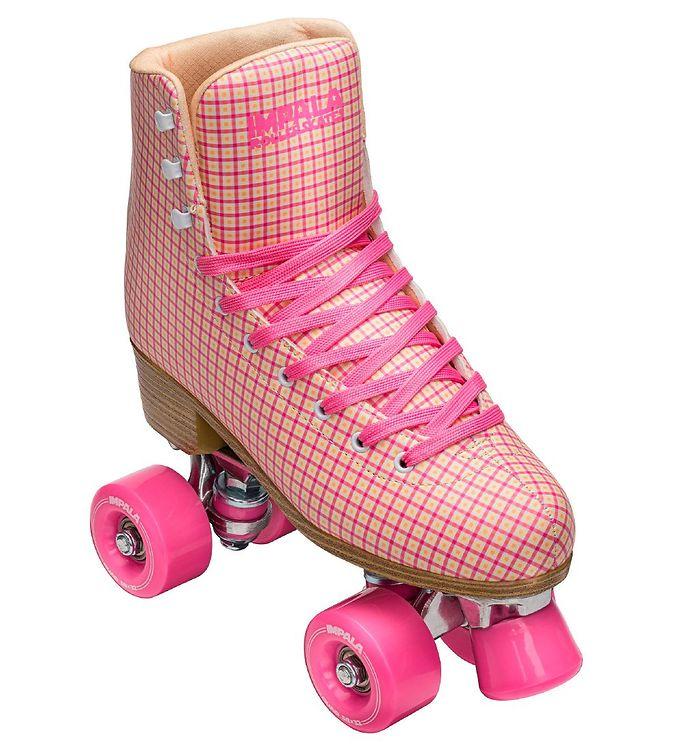 Image of Impala Rulleskøjter - Quad Skate - Pink Tartan (LO525)