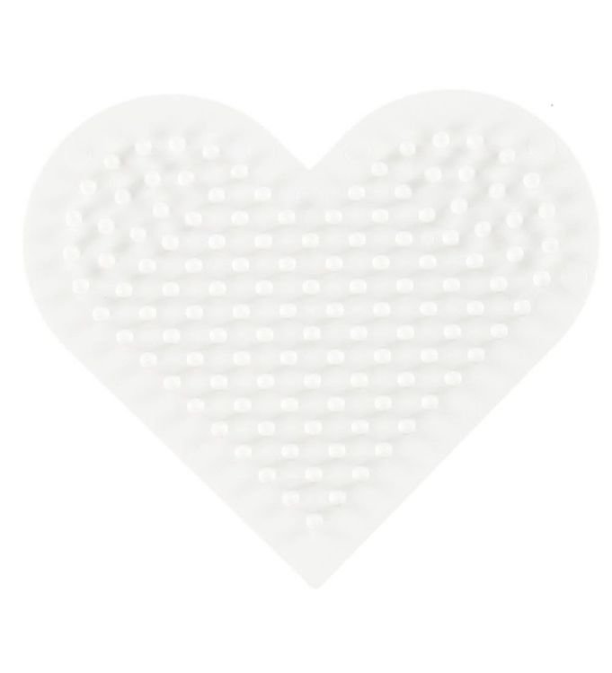 hama Hama midi perleplade - lille hjerte på kids-world