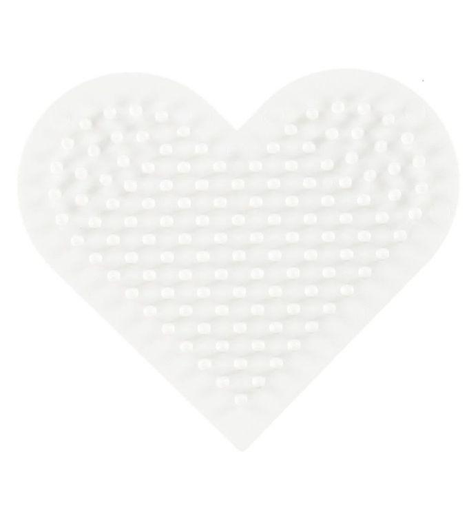 Hama Midi Perleplade - Lille Hjerte