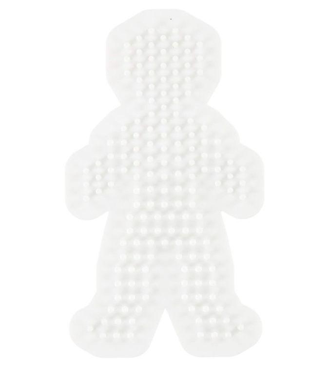 Hama midi perleplade - dreng fra hama på kids-world